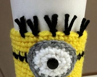 Minion Cup Cozy Sleeve