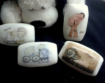 Details for baptism - personalized soaps -: JB1