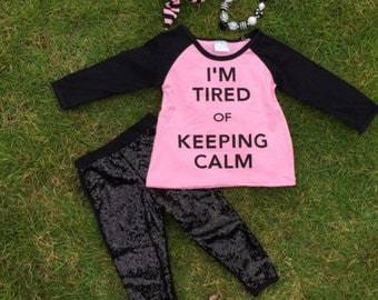 I'm Tired of Keeping Calm