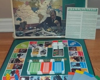 1973 Billionaire Board Game by Parker Brothers