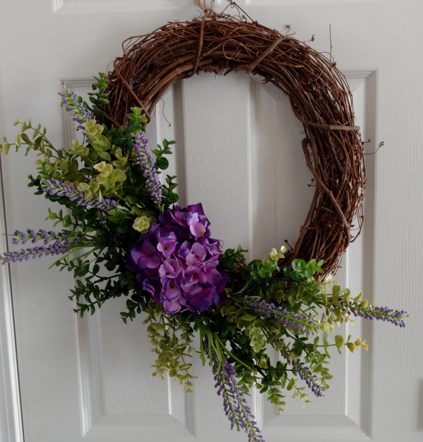 Spring Wreath Summer Wreath Front Door Wreath Casual