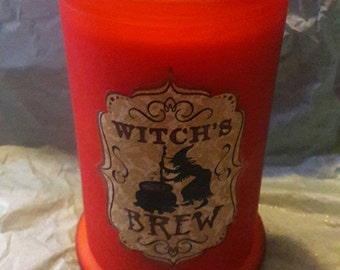 Witch's Brew Halloween Candle