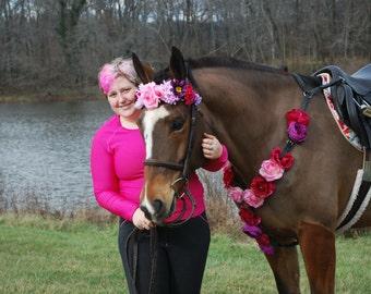 Pink Flower Breastplate
