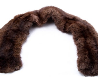 Vintage Genuine Mink Fur Collar