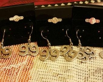 99 earrings.