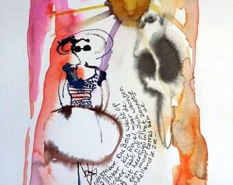 Watercolor Mme Dubois
