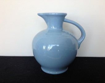 Periwinkle Blue Fiestaware Pitcher - Retired!