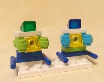 Micro Robot Minions: The Twins (Lego)