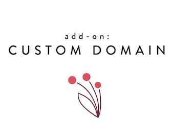 Custom Domain Name Add-on