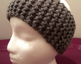 Child Knitted Headband/Ear-warmer (Ages 5-10)