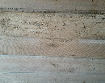 Reclaimed Lumber. 1x 6 rough cut lumber.