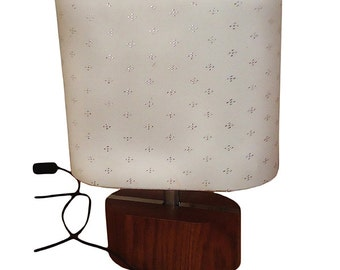 Silver Stitched Handmade Lighting Table Lamp