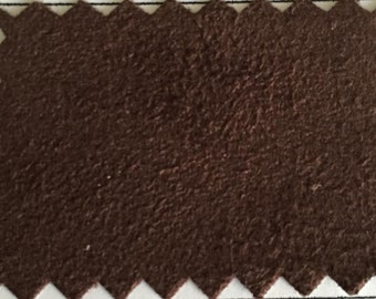 Poly Suede Fabric with Stretch