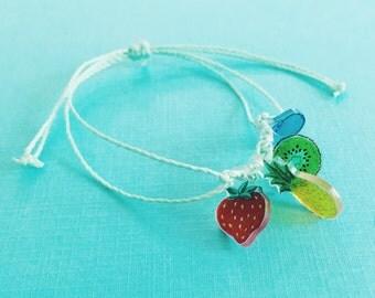Fruit Salad bracelet