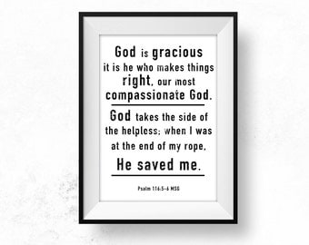 Grace Bible Verse Wall Art Printable Christian Art Scripture Art Bible Quote Poster Art Scripture Print Home Decor Gift for Sick Healing