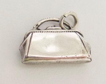 Vintage Ladies' Purse Handbag Sterling Silver Charm