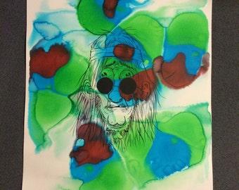 Headless Hippy print