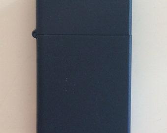 Navy Blue Zippo Lighter