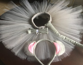 Mouse Costume, mouse tutu, halloween  costume