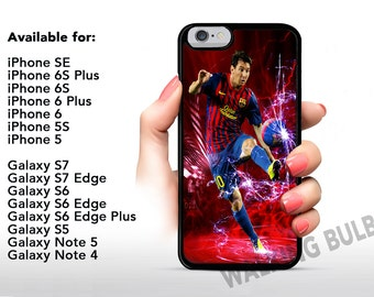 Barcelona Messi iPhone / Samsung Galaxy Silicone Case High Quality FAST SHIPPING