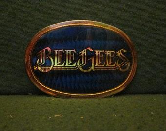 "VINTAGE 1977 Pacifica ""BeeGees"" PRISMATIC Belt BUCKLE"