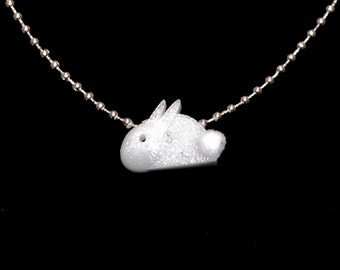 Bunny, 3D Printed Pendant