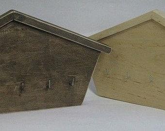 Wooden Key Box,Key Hooks,Key Holder,Key Rack,Wooden Key Storage,Key Cabinet,Decoupage key holder,Key Hanger,rustic Key Holder,wall Key box