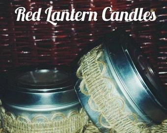 Red Lantern Candles