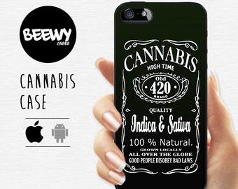 Cannabis Case iPhone iPhone 6 Case iPhone 5 Case iPhone 4 Case iPod Touch 5 Case Xperia M2 Case Xperia Z3 Case HTC One M9 Case Moto