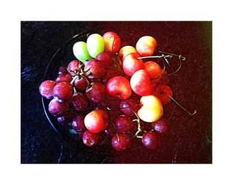 Grapes & Cherries