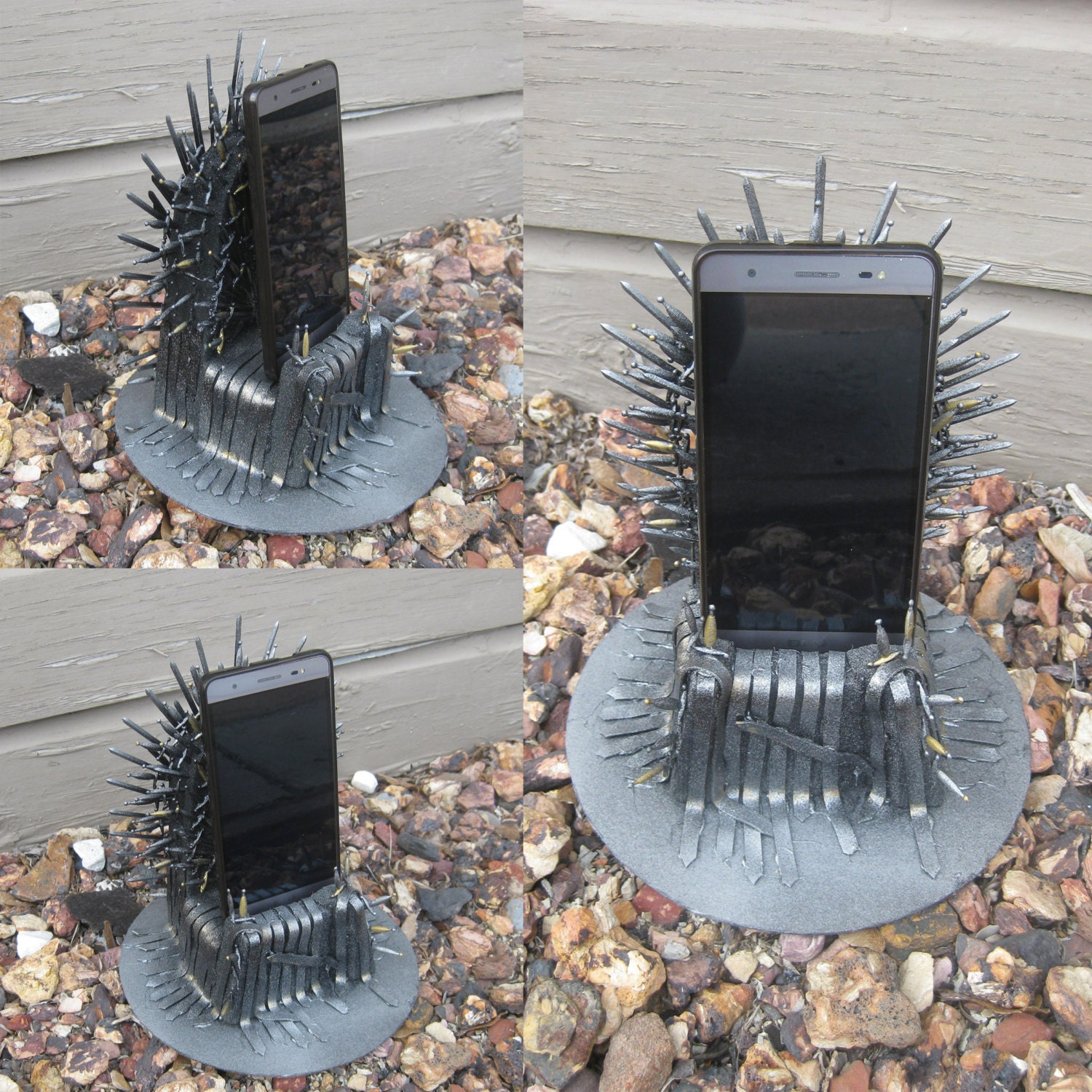 game of thrones gift iron throne phone charger by