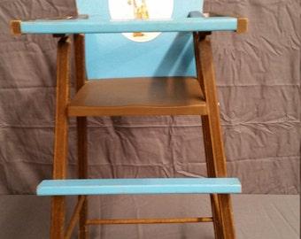 Vintage Holly Hobby highchair