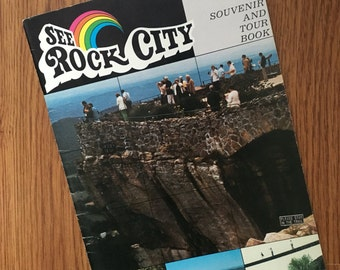 See Rock City Booklet Chattanooga Souvenir and Tour Book
