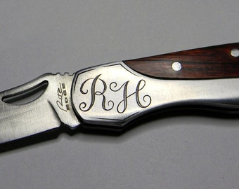 Custom Hand-Engraved Knives Made To Order