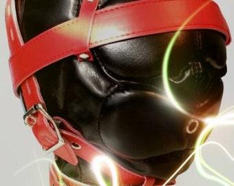 Isolation mask art leather