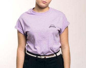 Volouz purple T-Shirt.
