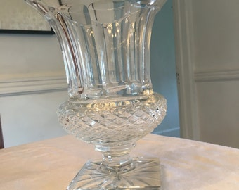Sale! Large St. Louis Crystal Urn Vase