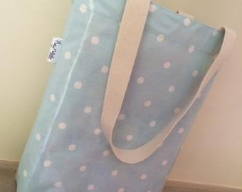 Dotty Dolittles Oilcloth Mag Bag