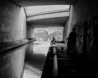 Fine Art Photograph Print: Under The Bridge