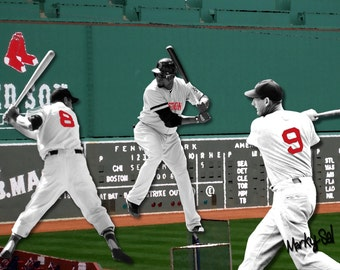 Red Sox Green Monster Canvas 12 x 16