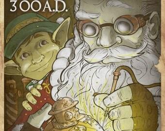 Santa Propaganda Poster #4