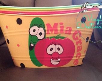 Veggie Tales Bucket