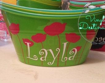 Pretty Poppy Bucket