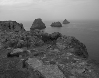 Pits and rocks