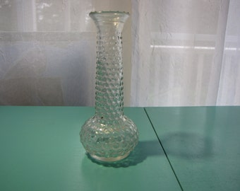 Hobnail Vase Clear E O Brody