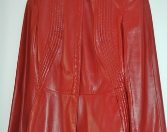 Thierry Mugler leather Veste