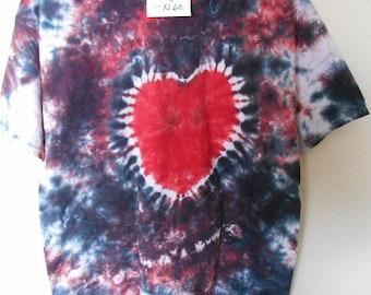 100% cotton Tie Dye T-shirt MMXL62 size XL
