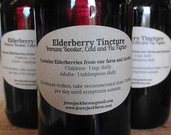 Elderberry Tincture 4 oz.