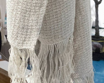 Cotton and Linen yarn scarf