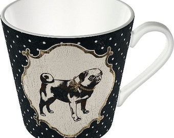 Coffee Mug Tea Cup - Pug Pugs Gifts mops